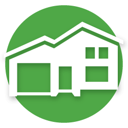 residential trash bin cleaning icon