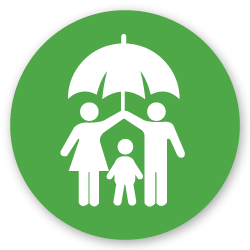 protecting family icon