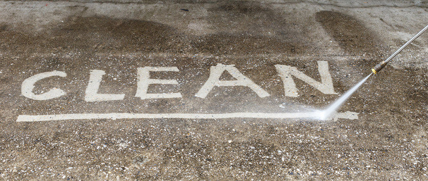 Four power washing tips and when to call the pros eco for Best way to power wash concrete